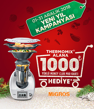 Thermomix TM5 Alana 1000 TL Yüklü Money Club Pro Kart Hediye
